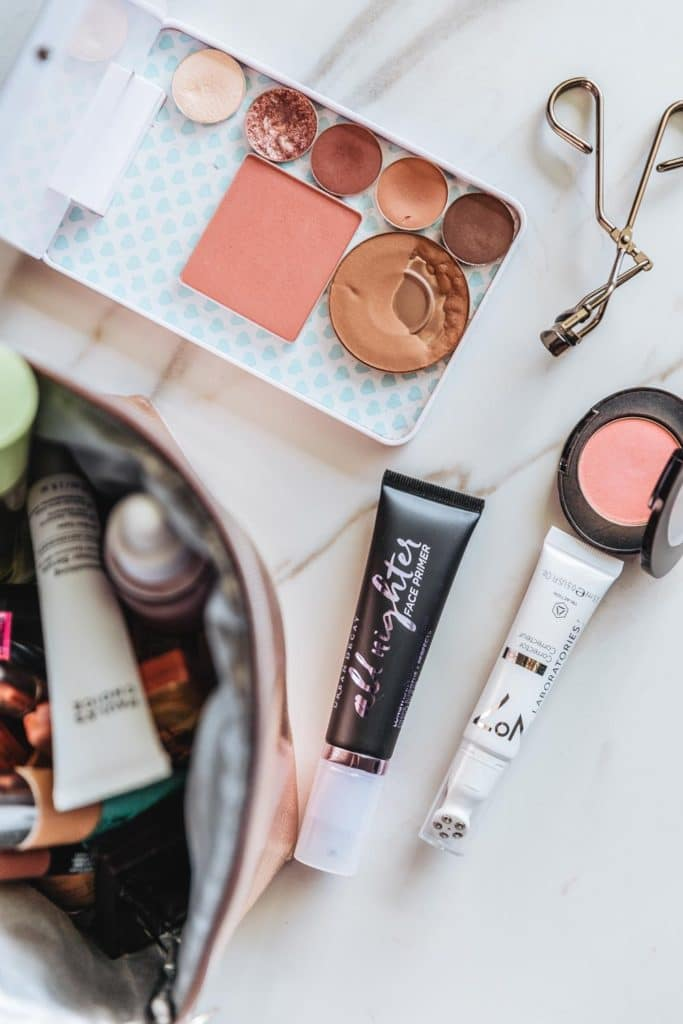 How I organize my makeup and beauty products